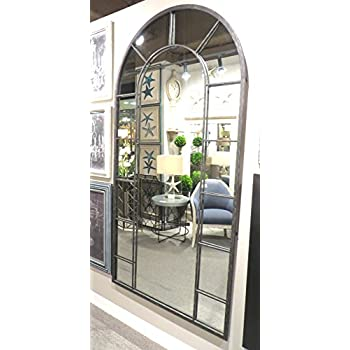 floors pottery mirror home mirrors arch best arched wonderful gold of distiller floor barn fabulous choice metal frame from on antique