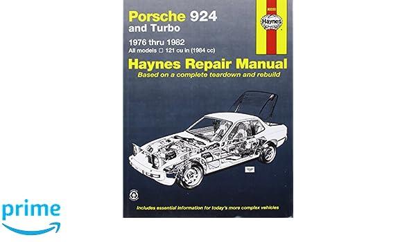 Porsche 924 and Turbo 1976-82 Owners Workshop Manual Haynes Manuals: Amazon.es: J. H. Haynes, Charles Lipton: Libros en idiomas extranjeros