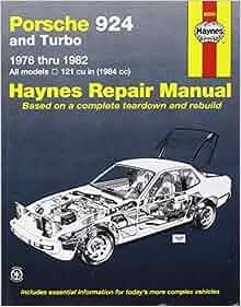 Porsche 924 7682 (Haynes Repair Manuals): Haynes: 0038345003974: Amazon.com: Books