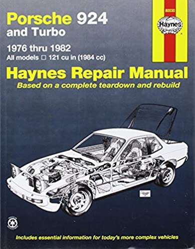 porsche 924 76 82 haynes repair manuals haynes 0038345003974 rh amazon com workshop manual porsche 924 free download haynes workshop manual porsche 924