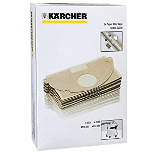 Karcher A2003 A2004 aspiradora fuerte doble capa bolsas de ...