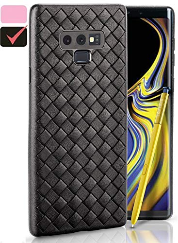 Galaxy Note 9 Case, Slim & Flexible Soft TPU Shockproof Cases for Samsung Note9, Ulta-Thin Full Body Cover, Protective Bumper for Note 9 Cell Phone, 2018 Hard Rugged Heavy Duty Protection (Black)