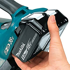Makita XBU02PT1 Lithium-Ion Brushless Cordless Blower Kit with 4 Batteries