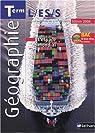GEOGRAPHIE TERMINALES L, ES, S 2008 + CD-ROM ELEVEL'ESPACE MONDIAL Livre scolaire par Mathieu