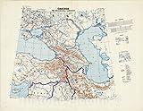 Historic Pictoric Map : Caucasia 1942, Caucasia and neighbouring Territories, Antique Vintage Reproduction : 57in x 44in