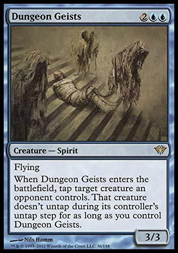 Dark Ascension ~ DUNGEON GEISTS rare Magic the Gathering card
