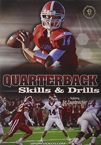 Sports DVD Football Instructional Video for Youth Quarterbacks, Coaches, Parents & Players, Quarterback Skills and Drills featuring Coach Ed Zaunbrecher