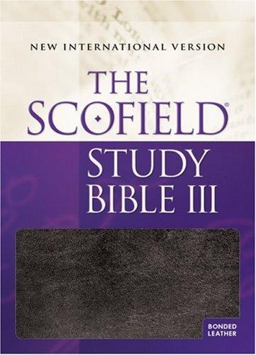 The Scofield® Study Bible III, NIV