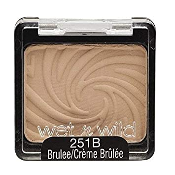 Wet N Wild Color Icon Eyeshadow Single Brulee 251b 0 06 Oz Pack Of 3 Beauty