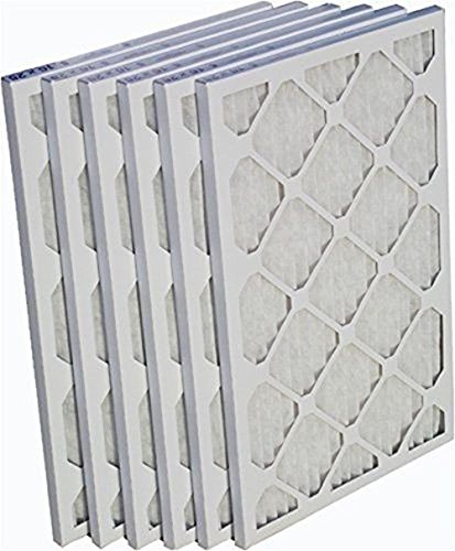 Heating, Cooling & Air EZ-Pleat 16x25x1 Air Filter Cleaner MERV 8 Pleated Furnace - 6 Pack