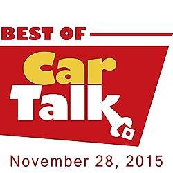 The Best of Car Talk, Throw Your Keys Down a Storm Drain, November 28, 2015