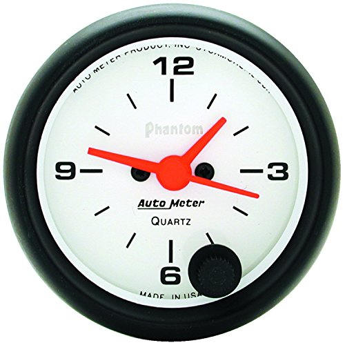 Autometer Clock - Auto Meter 5785 Phantom Clock