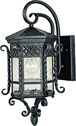 Maxim Scottsdale Outdoor Wall Lantern - 21H in. Country Forge
