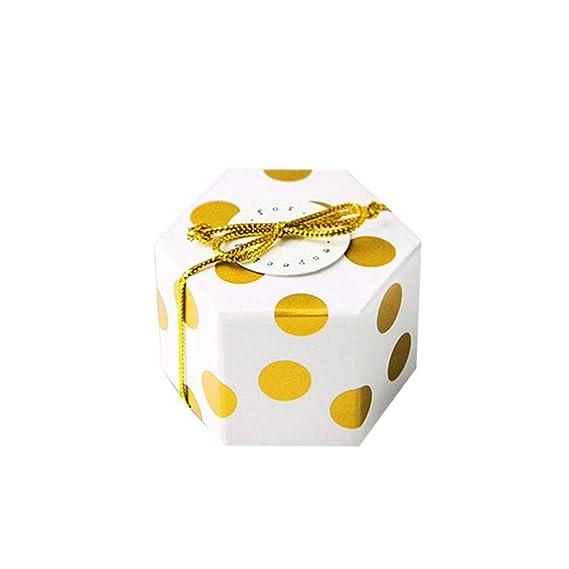 Toyvian Cajas de Favor boda Cajas de dulces Bolso Mini ...