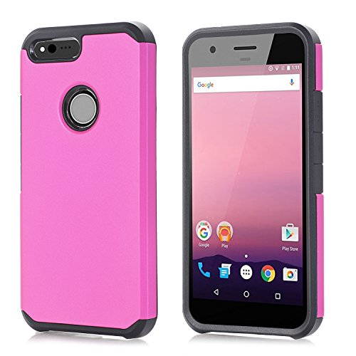 [Google Pixel XL Case, KAMII [Shock Absorption] [Heavy Duty Protection] Dual Layer Hybrid High Impact Armor Defender For Protective Case Cover for Google Pixel XL 5.5 inch (2016 Release)] (Pixel Gloves)