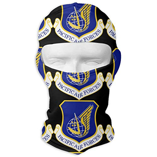 - US Air Force PACAF Logo Outdoor Sports Cycling Ski Balaclava Neck Hood Full Face Mask Hat