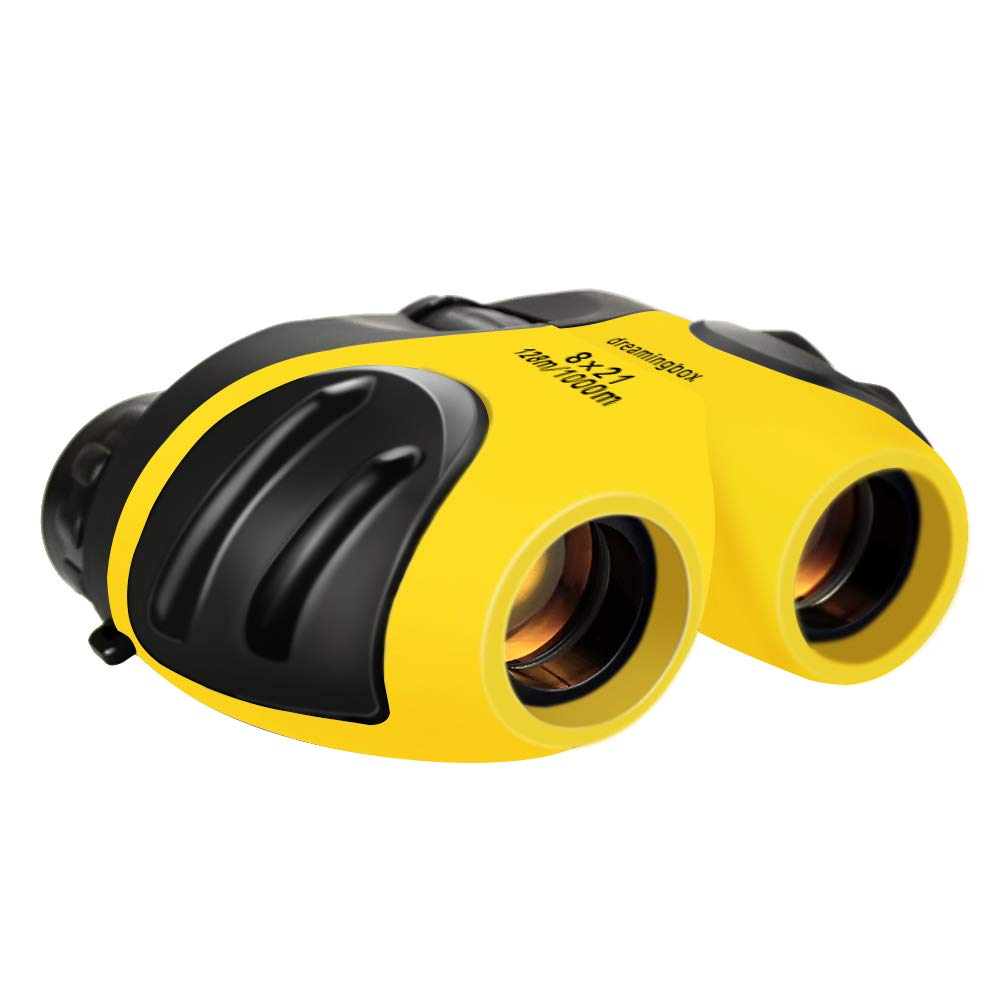 3. TOP Gift Compact Shock Proof Binoculars for Kids