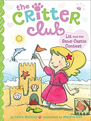 book cover of Liz and the Sand Castle Contest