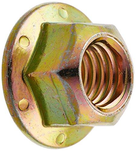 Hard-to-Find Fastener 014973271800 Grade 8 Coarse Hex Flange Nuts, 3/8-16, Piece-15 by Hard-to-Find Fastener