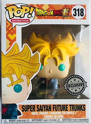 Funko Pop! Animation Dragon Ball Z Super Saiyan Future Trunks (Hot Topic) Exclusive Vinyl Figure #318