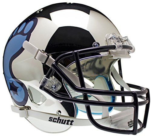 NORTH CAROLINA TAR HEELS Schutt AiR XP Full-Size REPLICA Football Helmet UNC (CHROME) (Unc Football Helmet compare prices)