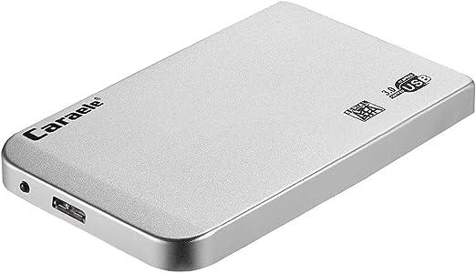 KESOTO HDD 外付け ポータブル 2.5インチ USB3.0 SATA ハードディスク 超薄 保護カバー付き - 500GB