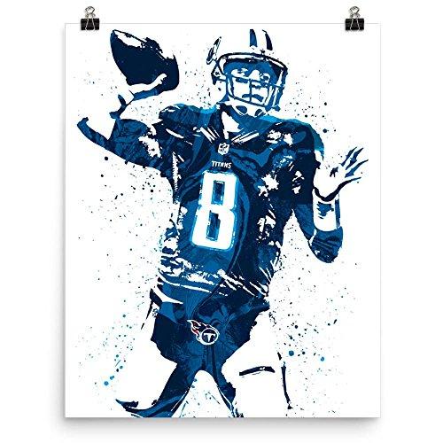 Marcus Mariota Tennessee Titans Poster