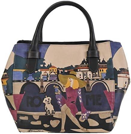 Made In Italy Baiadera Sac à main peint à la main Sophie/S Roma