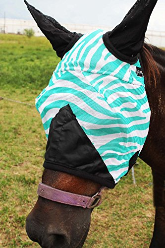 CHALLENGER Equine Horse Fly Mask Summer Spring Airflow for sale  Delivered anywhere in USA