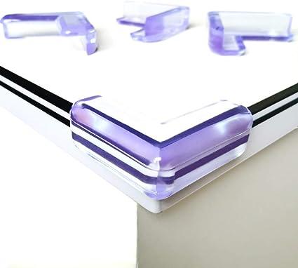 4 x Protège coins en silicone Bébé Enfant Protection Angle Sécurité Table Meuble