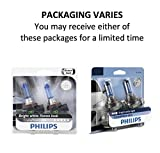 Philips 9003 CrystalVision Ultra Upgrade Bright White Headlight Bulb, 2 Pack