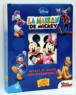 Amazon Fr La Maison De Mickey Mickey Et Minnie Que D Aventures
