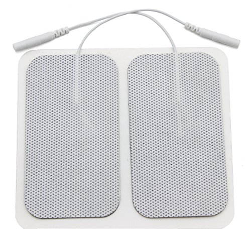 LotFancy Rectangle Electrode Stimulators Comfortable