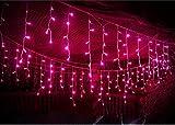 SDOUBLEM 4M 96 LEDs 8 Modes Curtain Window