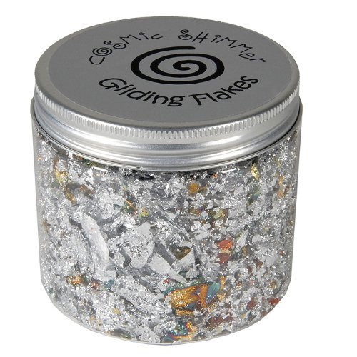 Cosmic Shimmer 200 ml Small Gilding Flakes Aurora Lights, Pack of 1 by Cosmic Shimmer