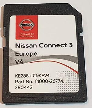 Tarjeta SD GPS Europe 2019 v4 - Nissan Connect 3 LCN2 - (Q1.2018)