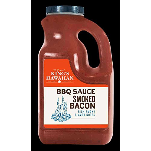 Kings Hawaiian Food Service Original Sweet Pineapple BBQ Sauce, 64 Ounce Jug -- 6 per - Sauce Bbq Kings