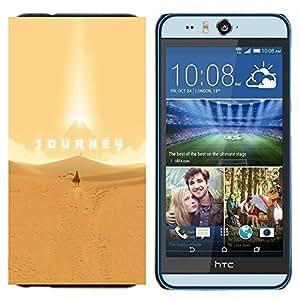 TECHCASE---Cubierta de la caja de protección para la piel dura ** HTC Desire Eye ( M910x ) ** --Viaje juego