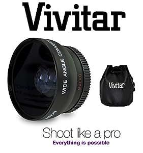 HD Wide Angle Lens With Macro For Panasonic HC-WX970 HC-VX870 HC-V770 HC-WX970M