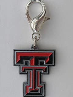 product image for Diva-Dog NCAA 'Texas Tech Raiders' Licensed College Team Dog Collar Charm