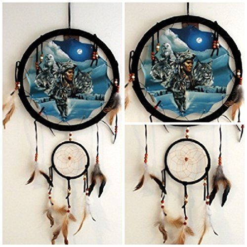 Dream Catcher Leather Mandella shield Wo - Leather Back Hanger Shopping Results