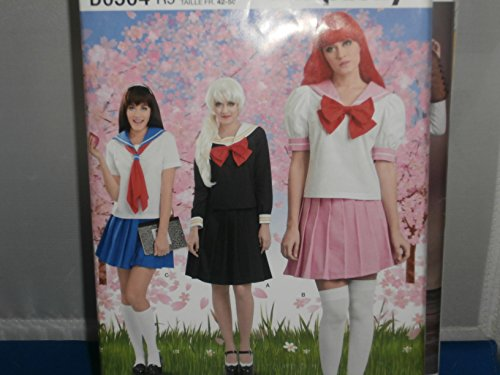 (Simplicity Sewing Pattern D0504 Adult Woman's Cosplay Sailor Suits Costumes Moon 14-22)