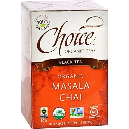 Choice ORGANIC TEAS Masala Chai, 1.15-Pound (Pack of 6) ( Value Bulk Multi-pack)
