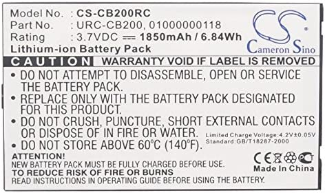 Replacement Battery for Sonos CB200 Controller 200 Controller CB200 CB200WR1 Controller CR200 URC-CB200 CR200 01000000118