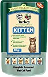 James Wellbeloved Complete Wet Kitten Food Turkey, 12 x 85 g