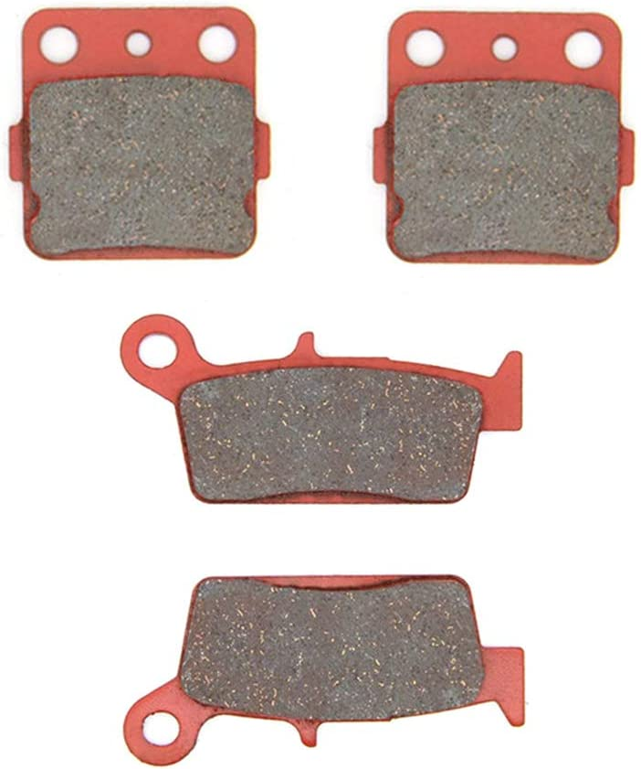 Honda CR 80 R RB 96-02 Front /& Rear Brake Pads Full Set 2 Pairs