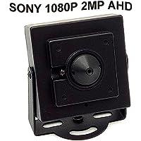 CNDST CCTV Sony 1080P HD AHD Mini Spy Pinhole Security Camera 2000Tvl 2MP 3.6mm 90 Degree, Mini Hidden Surveillance Camera