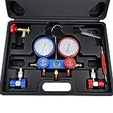 YX MARINE AC Refrigeration Kit A/C Diagnostic Manifold Gauge Set Air for R12 R22 R134a 410a R404z
