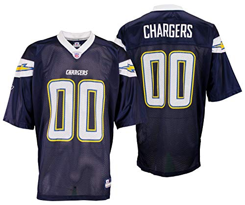 San Diego Chargers NFL Mens Vintage Team Replica Jersey, Navy (X-Large)