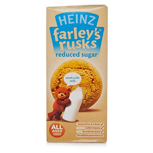 Farleys Rusks 4 Month Reduced Sugar Original 150g X 4 Pack